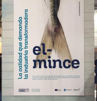 La organización de productores de Marín ofrece una degustación de las especies descartadas que pescan