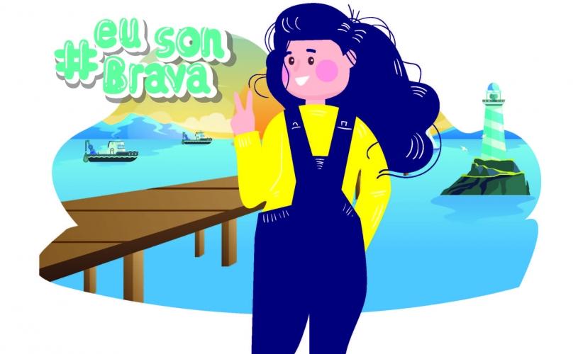 """""""Bravas do Mar"""", unha homenaxe ás mulleres do mar feita realidade."""