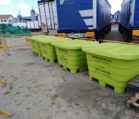 Opromar estrena un aparejo diseñado exclusivamente para la recogida de residuos marinos