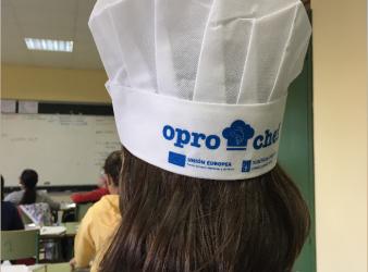 Arranca el concurso de recetas Oprochef en el CEIP Praza de Barcelos en Pontevedra