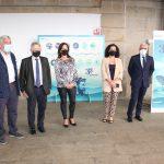 La exposición interactiva sobre los 35 años de Opromar inicia en Marín su gira por los mercados