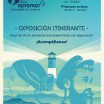 La exposición interactiva de Opromar, con motivo de su 35 Aniversario, comienza su recorrido por los mercados de abastos
